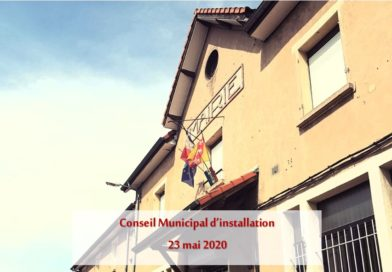 Conseil Municipal d'installation