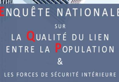 Enquête nationale sur la Qualité du lien entre la Population et les forces de sécurité intérieure