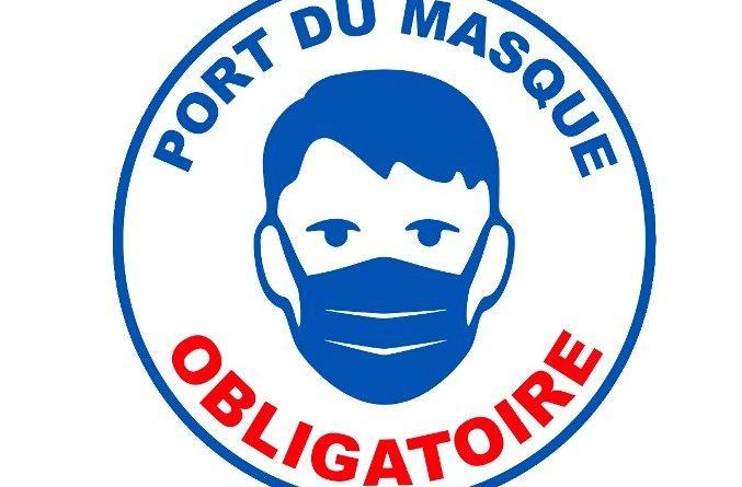 Port du masque en extérieur